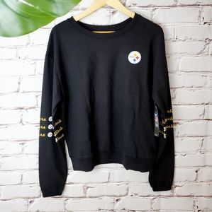 NWT Pittsburgh Steelers French Terry Pullover Crew